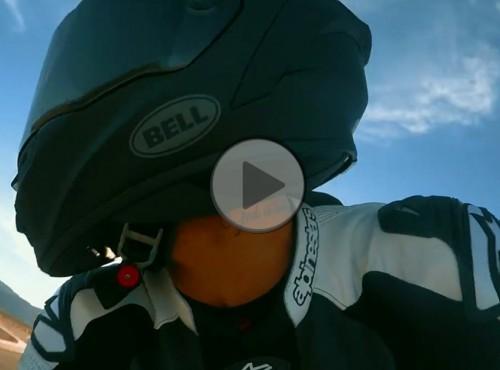 Lewis Hamilton za kierownicą Kawasaki ZX-10R