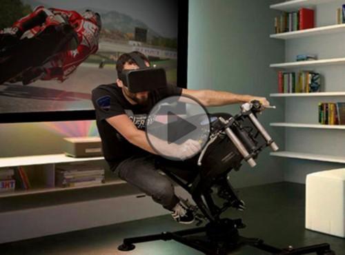LeanGP - pierwszy domowy symulator motocykla