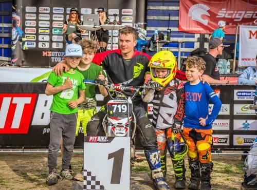1 runda Bud-Rem-Stal Pit Bike Cup 2018 za nami!