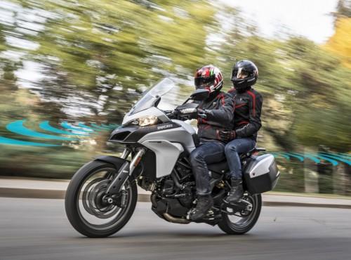Nowe systemy bezpieczeństwa Ducati - przedni i tylny radar