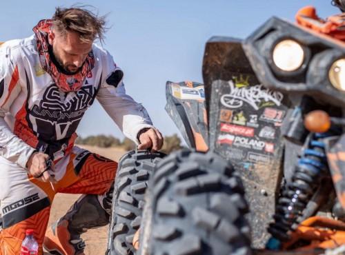 Arek Lindner po IV etapie Merzouga Rally: