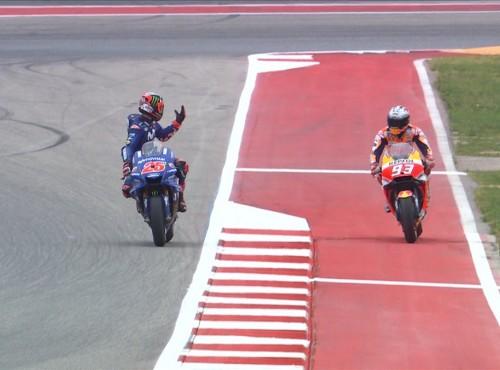 Kwalifikacje do GP Teksasu - dzięki Marquezowi wygrywa Vinales