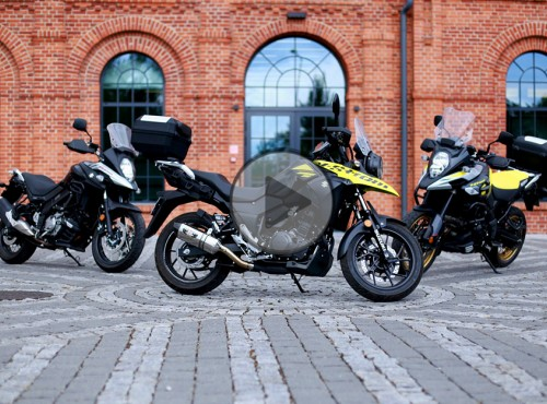 Motocykle Suzuki 2018. Dziennikarskie testy na Torze Łódź [FILM]