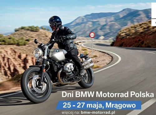 Dni BMW Motorrad w Mrągowie już 25 maja. Testuj motocykle BMW i poznawaj niezwykłych ludzi!