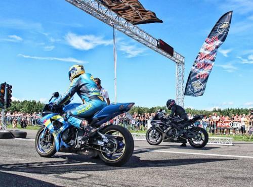 Wielkie ściganie w Moto Park Ułęż