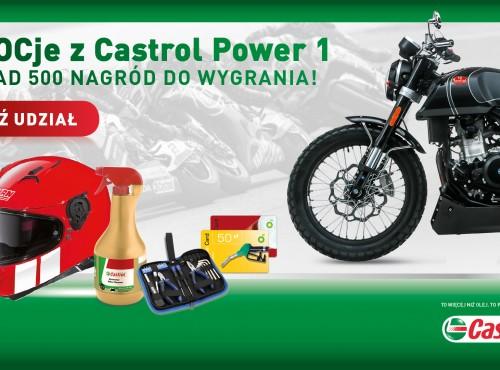 Dwa motocykle i setki innych nagród do wygrania w konkursie Castrol Power 1!