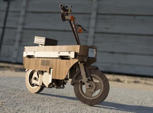 Laser Compo. Najbardziej drewniana Honda w historii