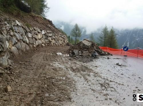 Przełęcz Stelvio otwarta! Włoscy drogowcy ekspresowo zbudowali objazd osuwiska