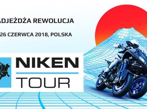 Niken Tour 2018 - jeszcze w czerwcu w Polsce! Trwają zapisy!