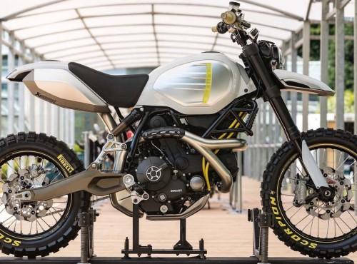 Ducati Scrambler Desert Sled Concept. Oto Scrambler z twoich snów!