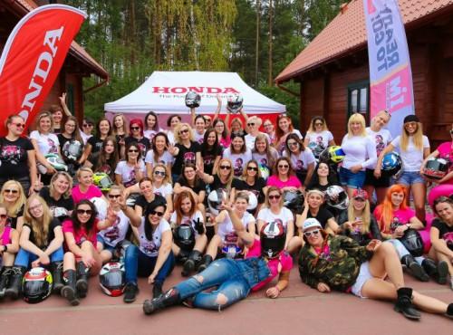 Honda Speed Ladies Camp! Czyli 100 motocyklistek i zwariowany weekend