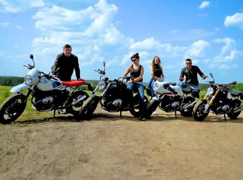 BMW R nineT - rodzina w komplecie [film]