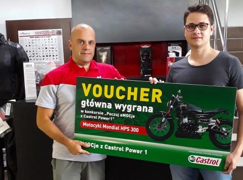 Jest pierwszy zwycięzca w konkursie Poczuj eMOCje z Castrol Power1!