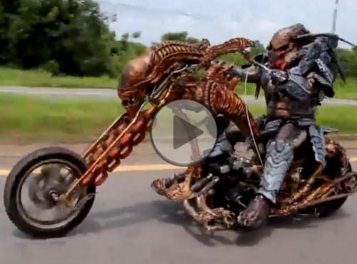Motocyklowy Predator z Tajlandii