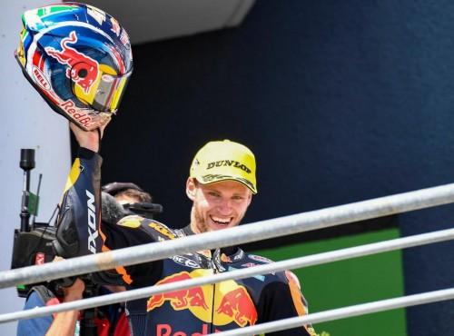 Brad Binder w pięknym stylu wygrywa pierwszy w karierze wyścig Moto2