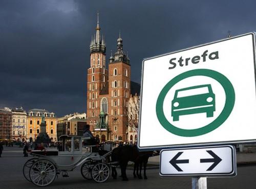 Pierwsza Strefa Czystego Transportu powstanie w Krakowie. Tanio nie będzie