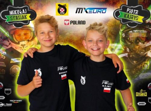 Petardy motocrossu - dwaj nastolatkowie z Polski w finale Mistrzostw Europy