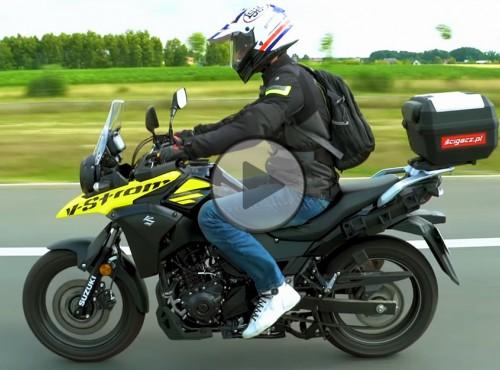 Suzuki V-Strom 250 - nowy w rodzinie [TEST VIDEO]