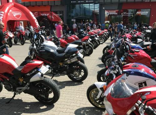 60 Monsterów pojawiło się na I Zlocie Ducati Monster we Wrocławiu