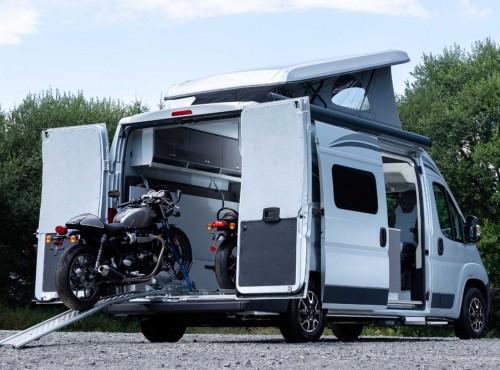Citroen Biker Solution. Kamper dla podróżujących motocyklistów