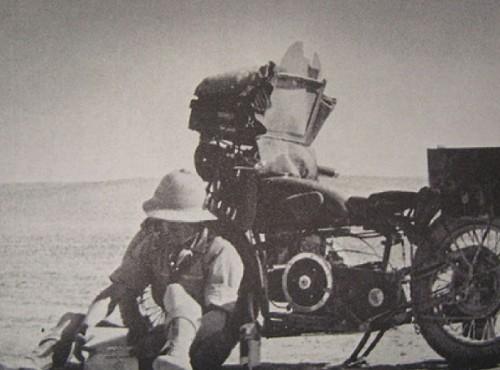 Legenda motocyklowych podróży. Robert Fulton Jr i jego samotna wyprawa z 1932 roku