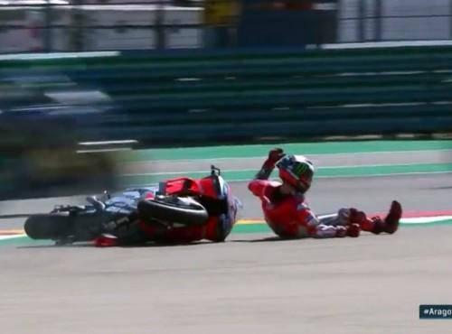 Lorenzo oskarża Marqueza o spowodowanie wywrotki, MM93 zaprzecza