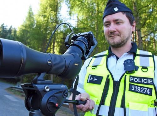Namierzą cię z kilometra. Czeska policja ma nową broń na kierowców