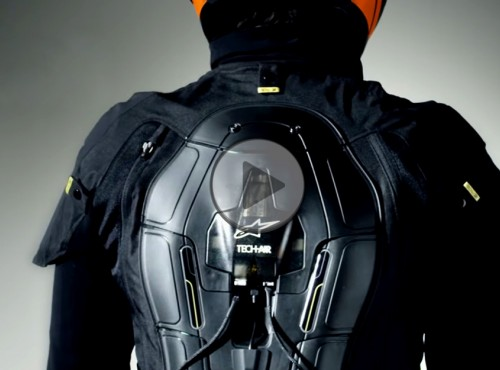 Odzież KTM PowerWear teraz z poduszką Tech-Air od Alpinestars