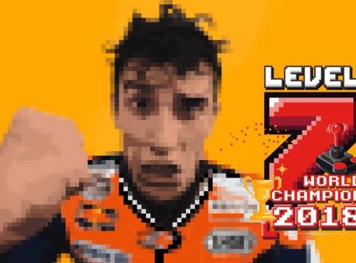 Marc Marquez znów to zrobił - LEVEL 7