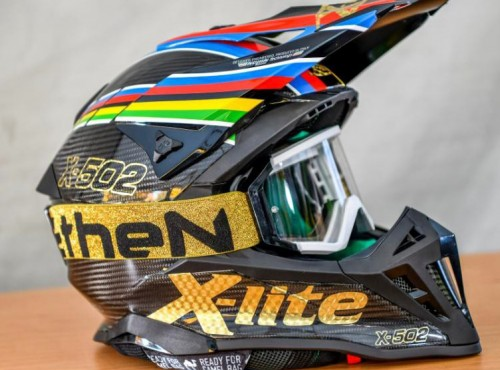 X-lite X-502 - kask mistrzów świata enduro