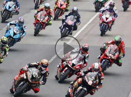 Grand Prix Makau 2018: hat-trick Petera Hickmana