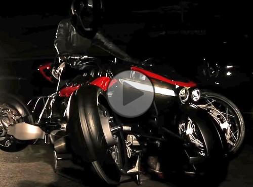Latający motocykl Lazareth - 4 koła, 4 turbiny