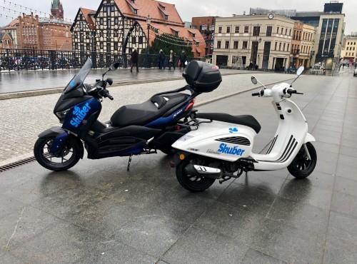 Startuje Skuber - pierwsza skuterowa sieć przewozowa w Polsce