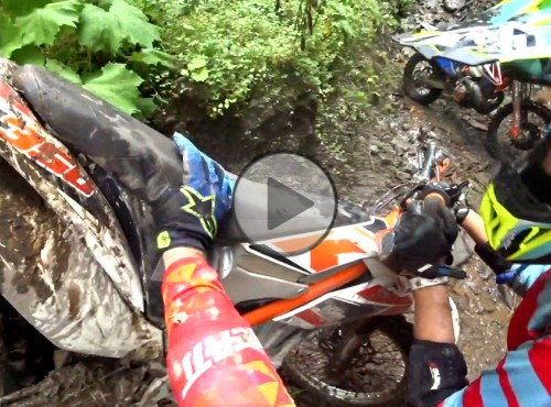 Amatorskie hard enduro w Rumunii [VIDEO]