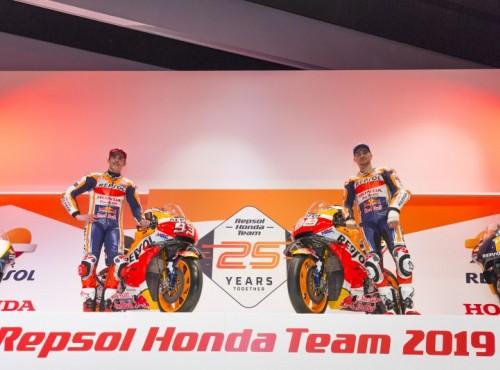 4 legendy MotoGP na prezentacji Repsol Hondy