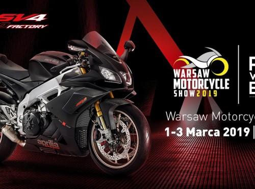 Aprilia Polska zaprasza na targi Warsaw Motorcycle Show 2019!