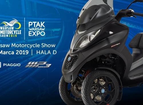 Piaggio Polska uczestnikiem Warsaw Motorcycle Show 2019!