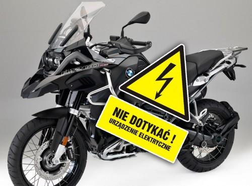 Hybrydowy BMW R1200 GS. Spalinowy bokser wspomagany prądem na szkicach patentowych