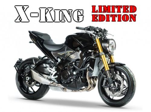 Suzuki X-King. Szalony Król powraca w ściśle limitowanej wersji