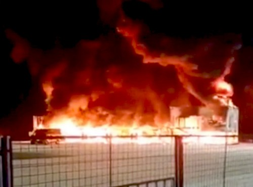 Dorna podała wstępną przyczynę pożaru boksów MotoE w Jerez