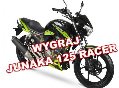 Weź udział w konkursie Junaka i powalcz o motocykl Junak 125 RACER