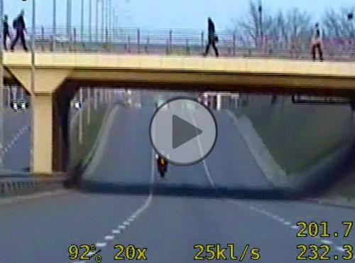 Szczecin: 210 km/h po mieście motocyklem bez polisy OC