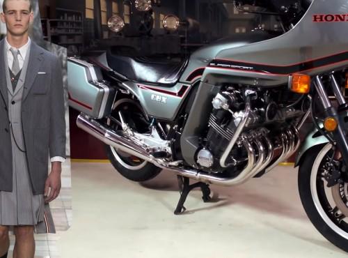 6. cylindrowy silnik rzędowy w motocyklu - czarujące szaleństwo Hondy CBX z 1981 roku!