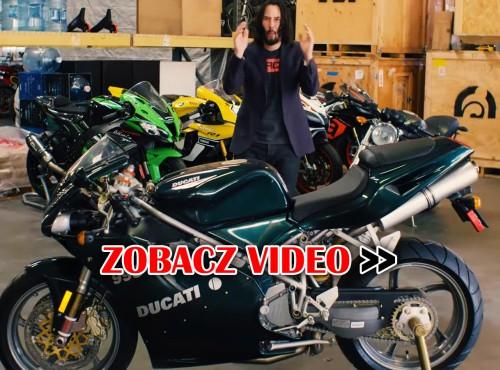 Kolekcja marzeń - Keanu Reeves pokazuje motocykle ze swojego garażu