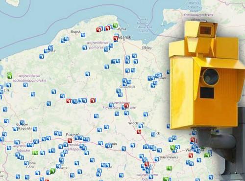 Fotoradary w Polsce - gdzie są? Szczegółowa mapa