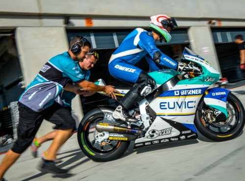 Piotr Biesiekirski rozpoczyna drugi sezon w motocyklowych ME Moto2