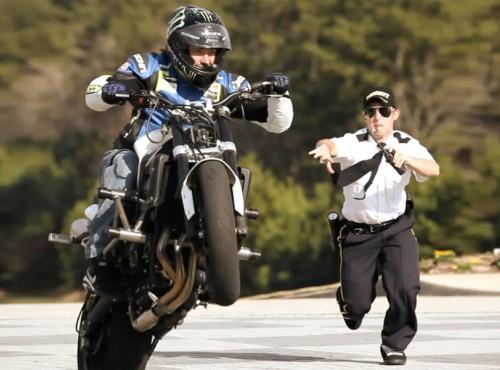 Co może policja, kiedy uciekasz na motocyklu? Jaka kara za ucieczkę