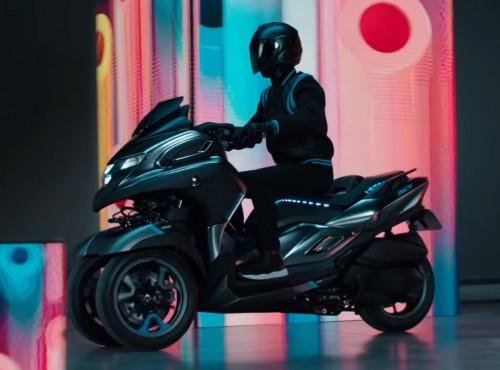 Yamaha Tricity 300 coraz bliżej. Zobacz wizualizacje patentowe