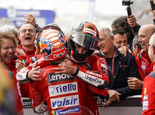Podwójne podium Ducati w Le Mans!