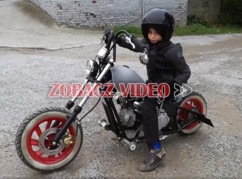Mały pojazd, duża klasa - mini-chopper ze wstecznym biegiem